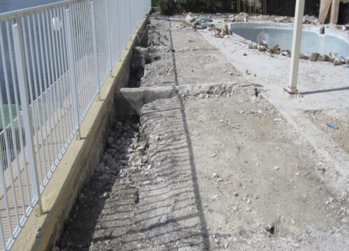Retaining Wall Reinforecement